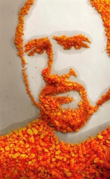 my_friend_made_a_portrait_of_louis_ck_entirely
